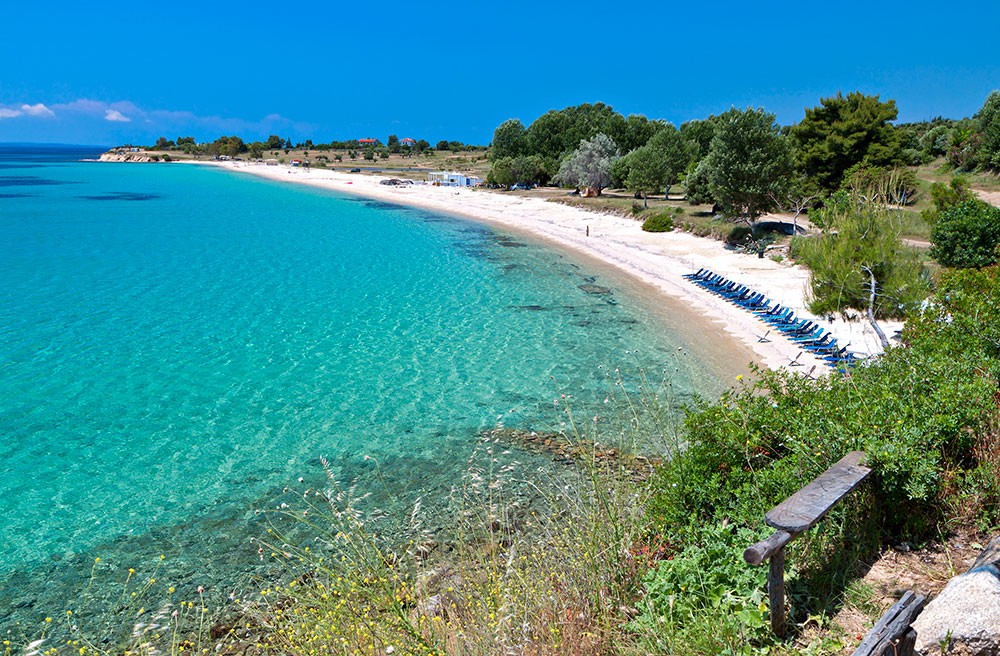 Top 5 beaches in Rhodes Island