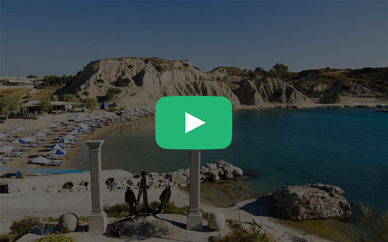 Enjoy a short video with the beauties of Rhodes island